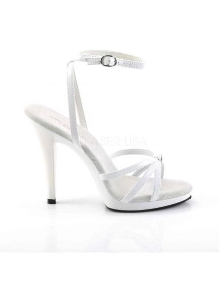 Sandales Icône Blanc Brillant PLEASER