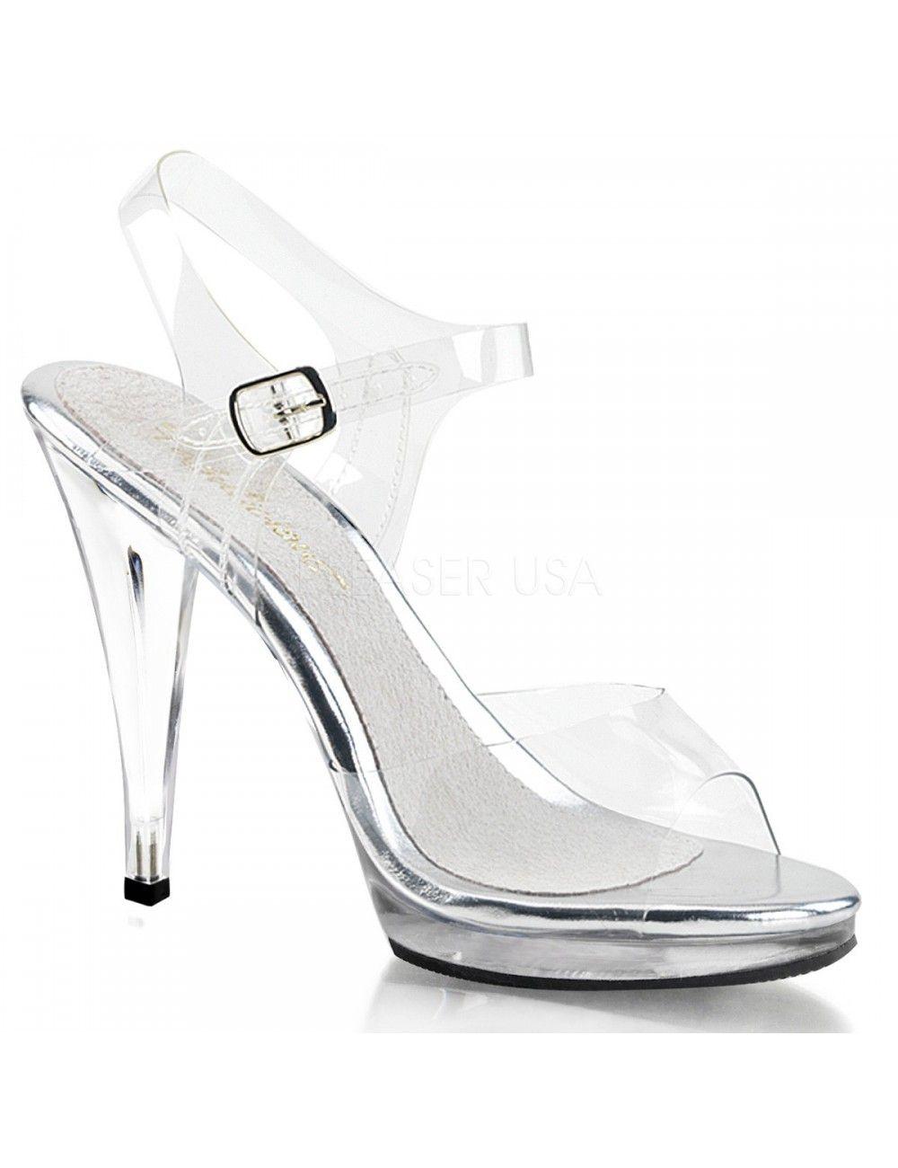 Sandales Amour de Transparence PLEASER