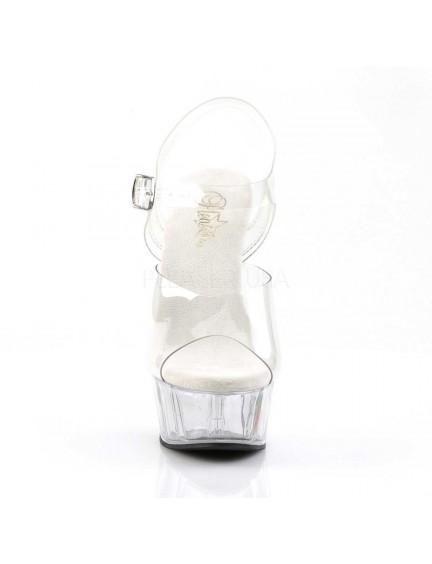 Sandales plateforme Inspiration Transparent PLEASER