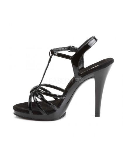 Sandales Icône Noir Vernis PLEASER
