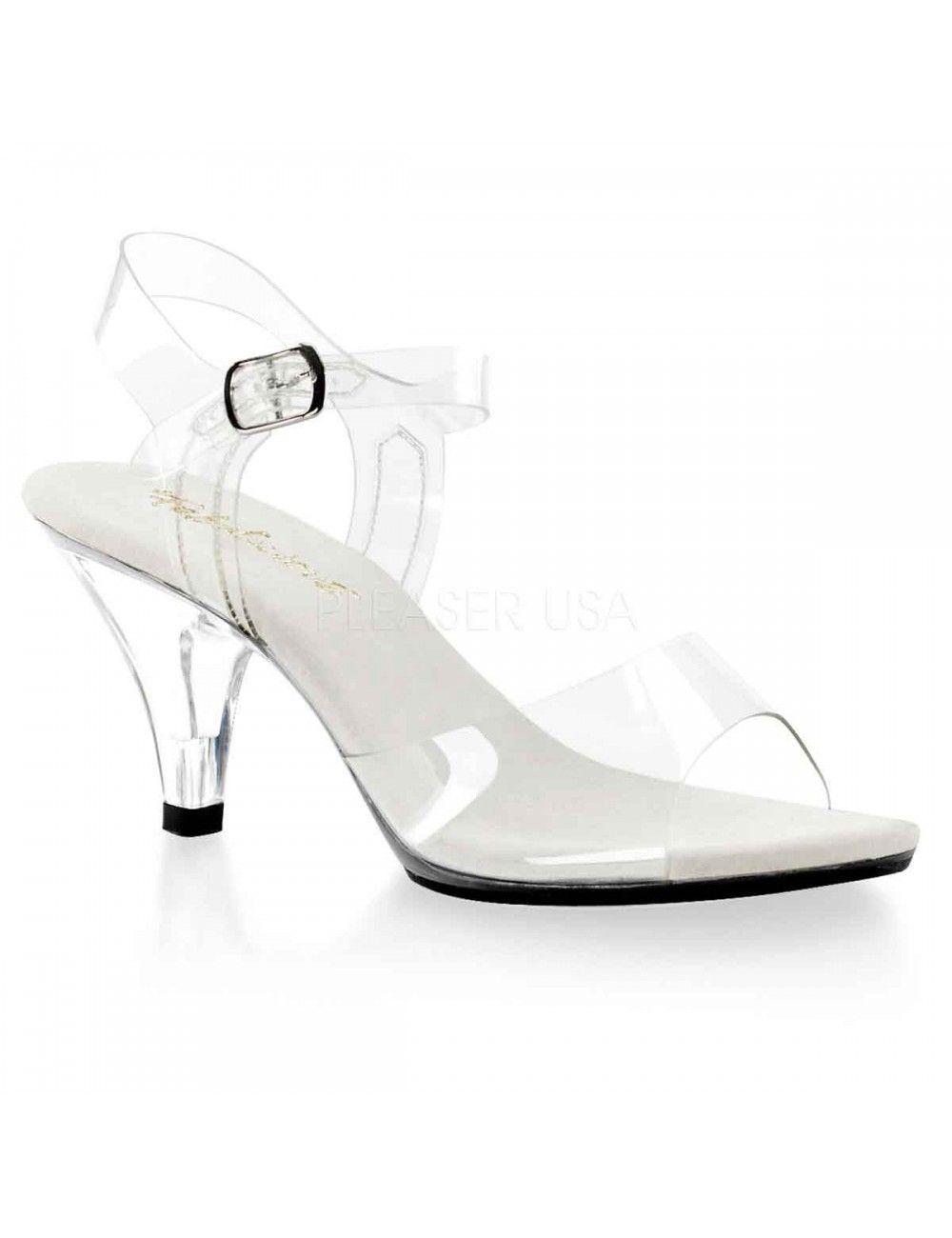 Sandales Transparentes Belle & Chic PLEASER