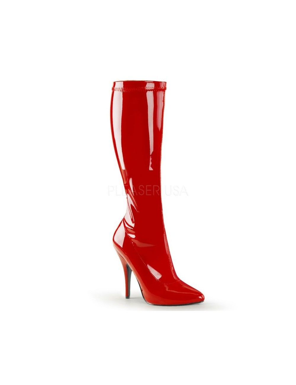 Bottes talon aiguille sexy Rouge Fashion PLEASER