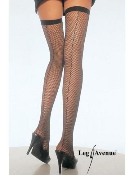 Bas sexy cubain avec couture Leg Avenue