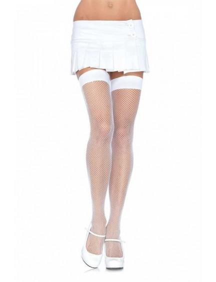 Bas Résille Blanc Sublime LEG AVENUE