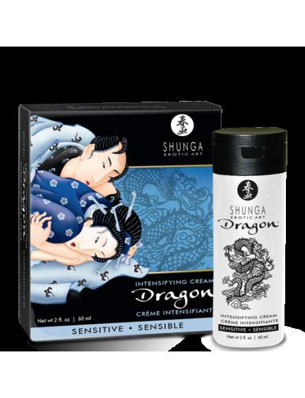 Crème virilité Dragon Sensitive SHUNGA