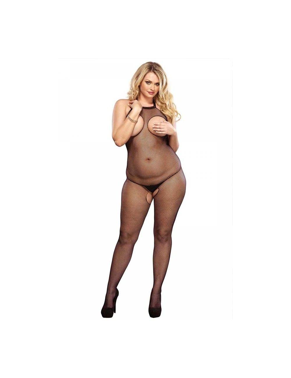 Combinaison Résille Seins Nus sexy size LEG AVENUE