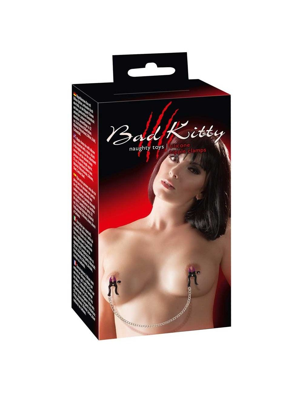 Pinces Tétons Silicone Bad Kitty