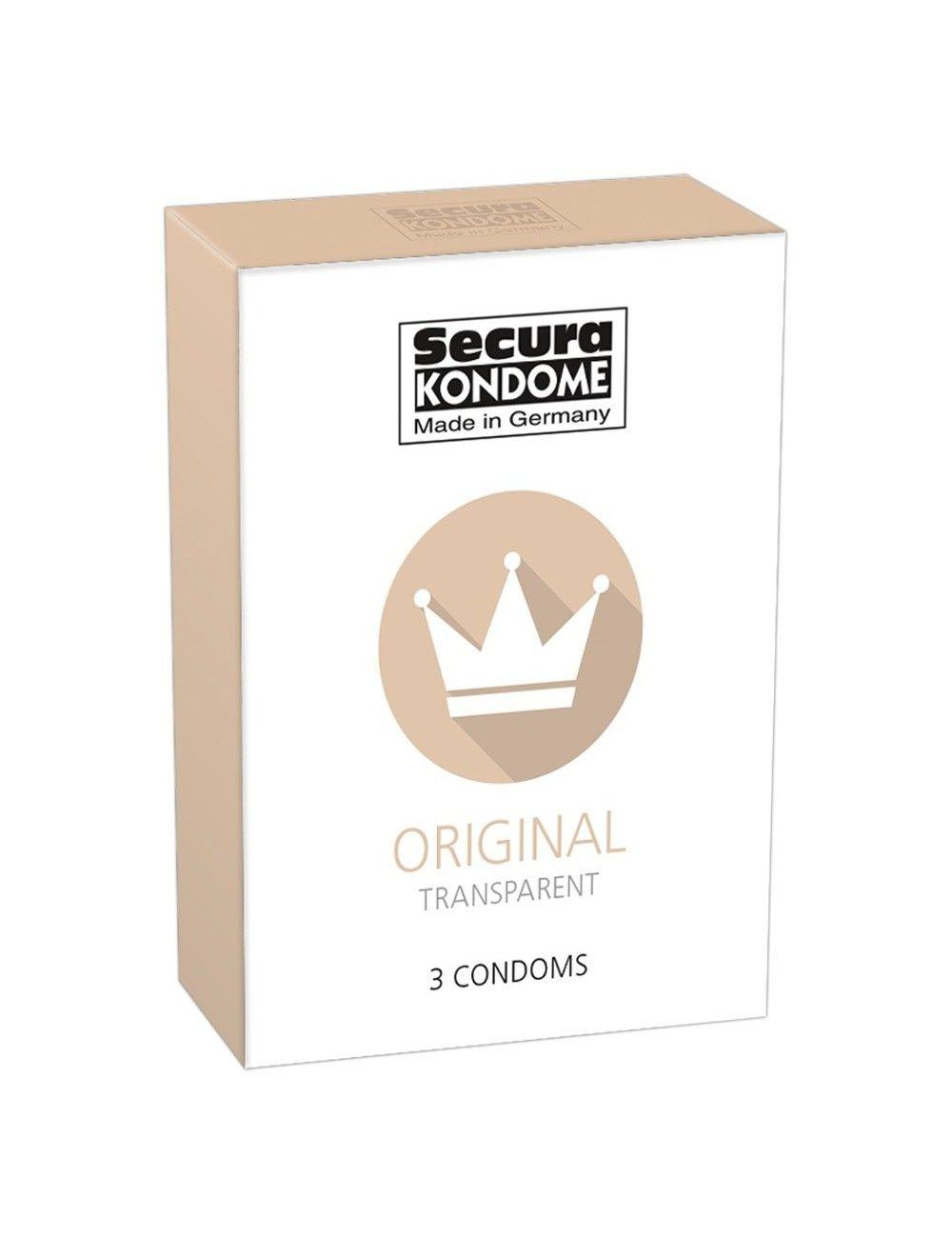 Boite 3 préservatifs Original SECURA