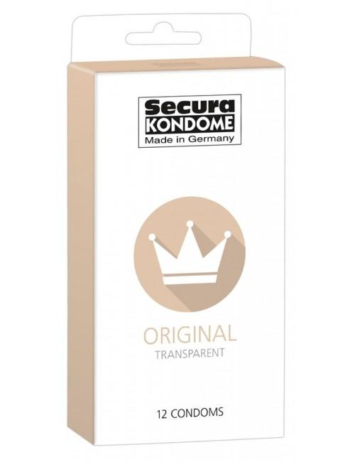 Boite 12 préservatifs Original SECURA
