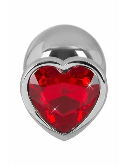 Plug anal en métal et coeur 159g YOU 2 TOYS