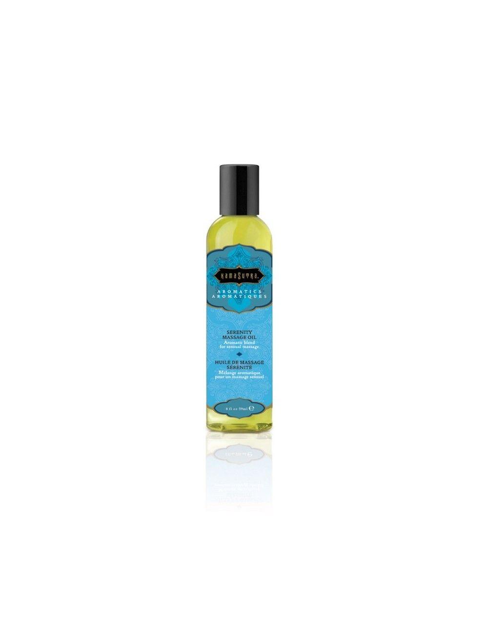 Huile aromatic massage 59ml Sérénité KAMASUTRA