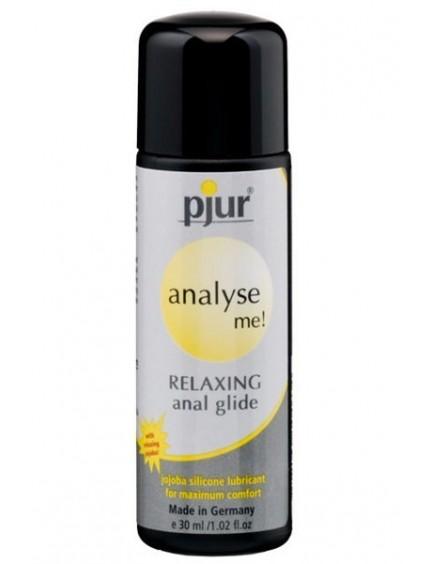 Lubrifiant Silicone Décontractant anal 30ml Pjur