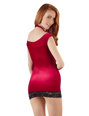 Robe Rouge Velvet Cottelli Collection