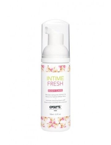 Mousse nettoyante intime Fresh 150 ml EXSENS