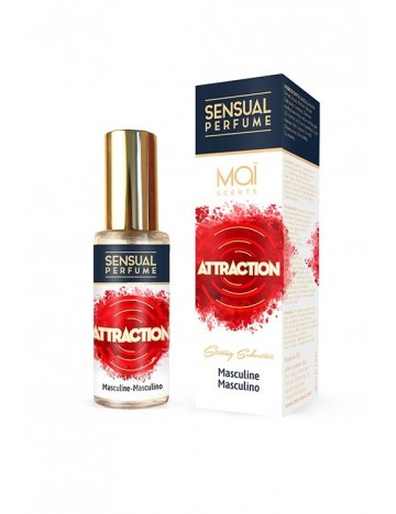 Parfum homme aux phéromones Attraction Mai Scents
