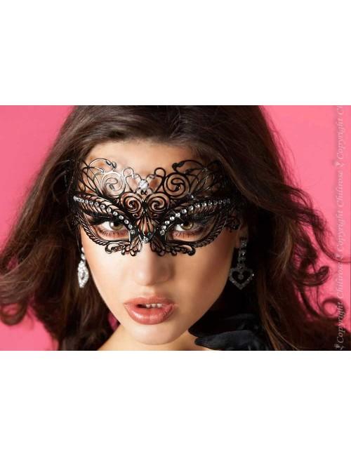 Masque Mystérious Noir et brillants Chilirose