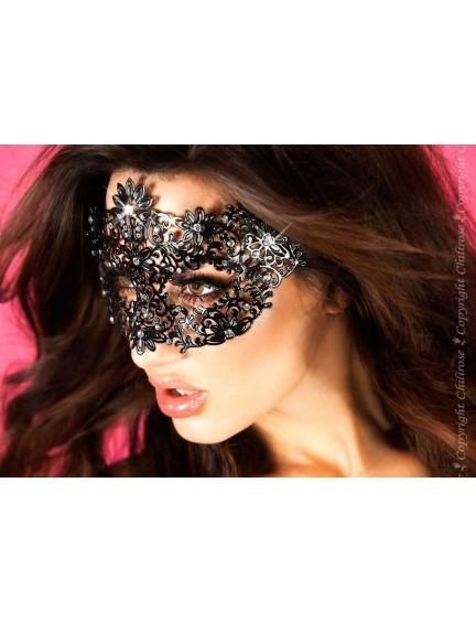 Masque Séductrice Noir et brillants Chilirose
