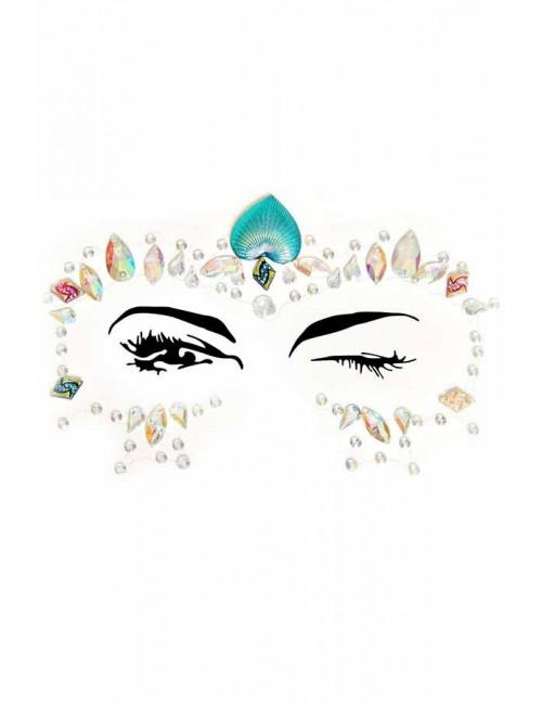 Bijoux contour des yeux Lotus autocollant LEG AVENUE