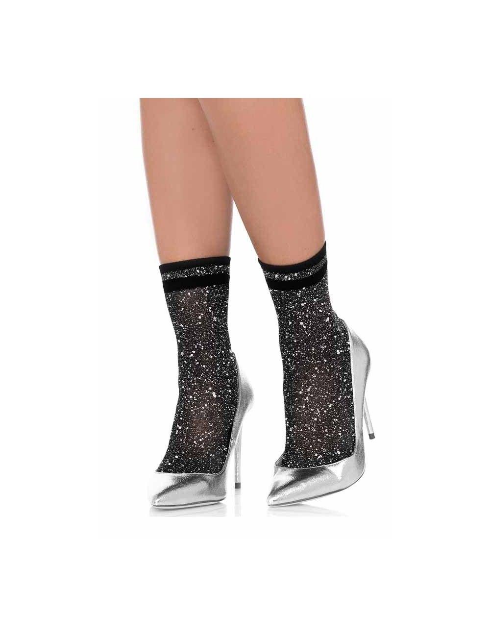 Soquettes festives et chic Silver LEG AVENUE