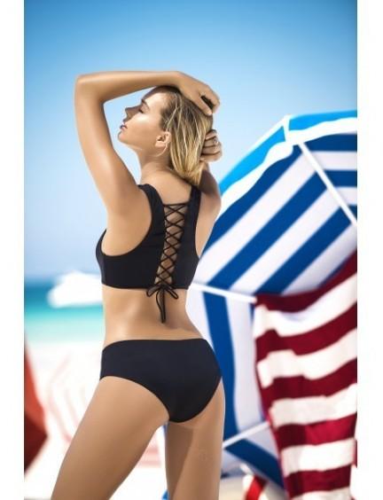 Bikini noir et laçage 2 pièces MAPALE