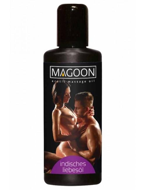 Huile de massage érotique Indian Love MAGOON