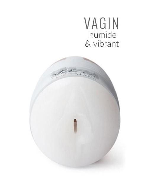 Masturbateur Vibrant Vagin Humide Vulcan