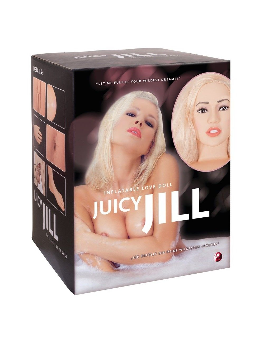 Poupée gonflable Juicy Jill You 2 Toys