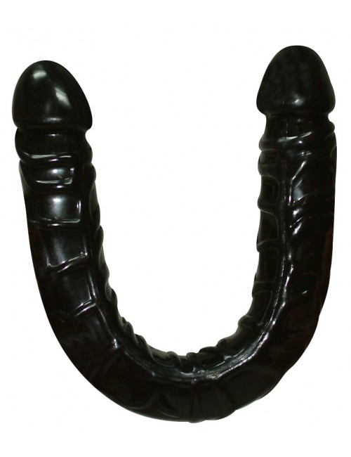 Double dong flexible noir 43 cm YOU 2 TOYS