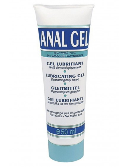 Gel lubrifiant Anal à base d'eau 50ml LUBRIX
