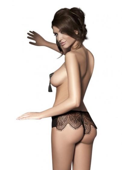 Culotte sensuelle & noire Imagine ANAIS
