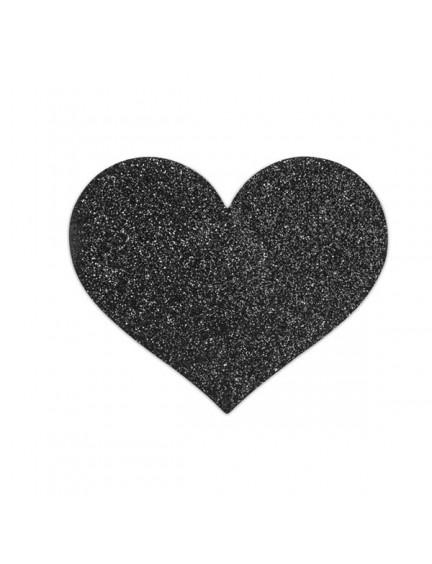 Nipples Flash Coeur Noir Bijoux Indiscrets