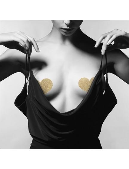 Nipples Flash Coeur Or Bijoux Indiscrets