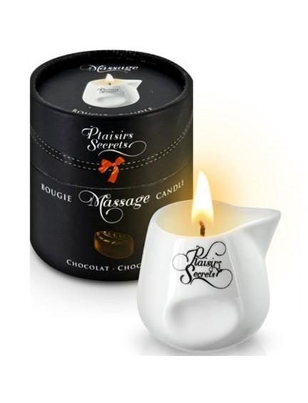 Bougie de massage chocolat Plaisir Secret