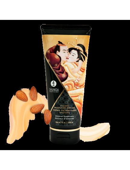 Crème de Massage Savoureuse Douceur d'Amande Shunga