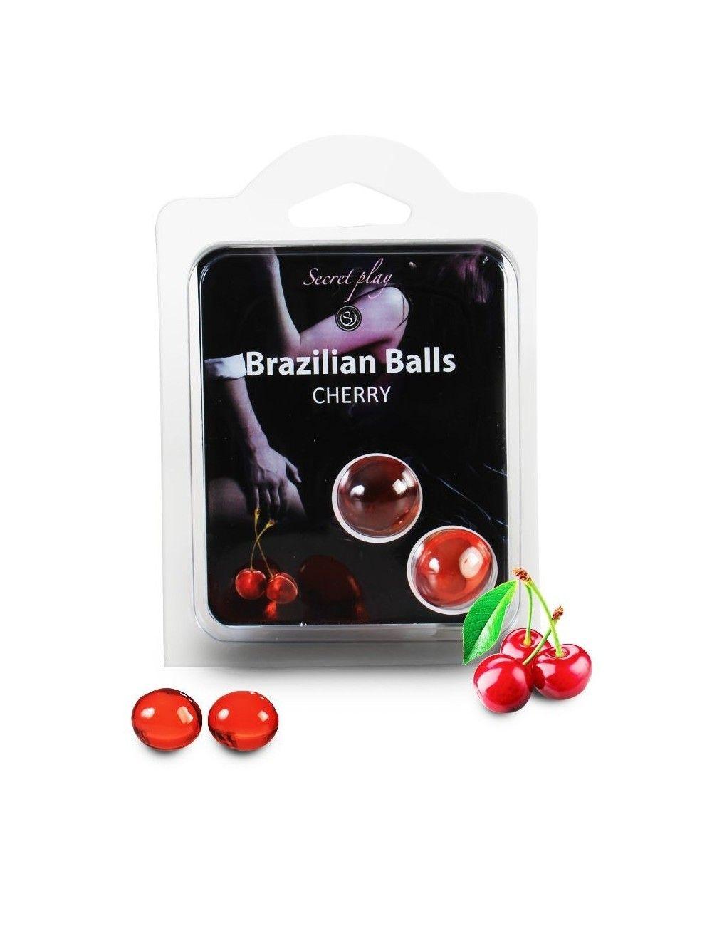 2 boules brésiliennes Cerise BRAZILIAN BALLS