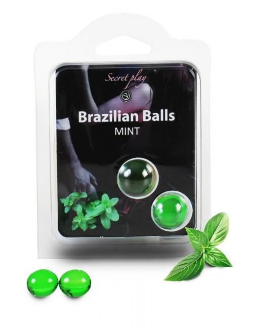 Boules brésiliennes Menthe BRAZILIAN BALLS