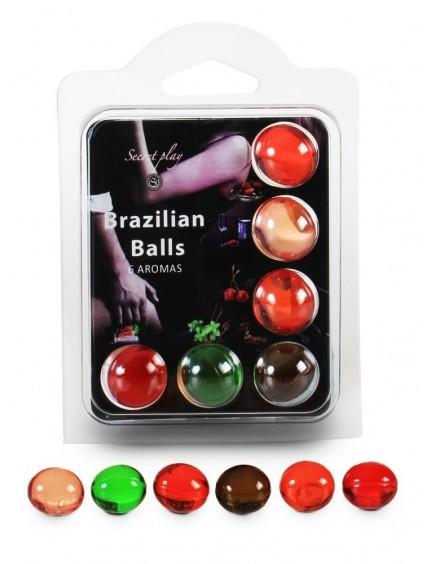 boules X6 de massages divers parfums BRAZILIAN BALLS