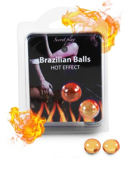 boules X2 chauffantes Hot Effect BRAZILIAN BALLS