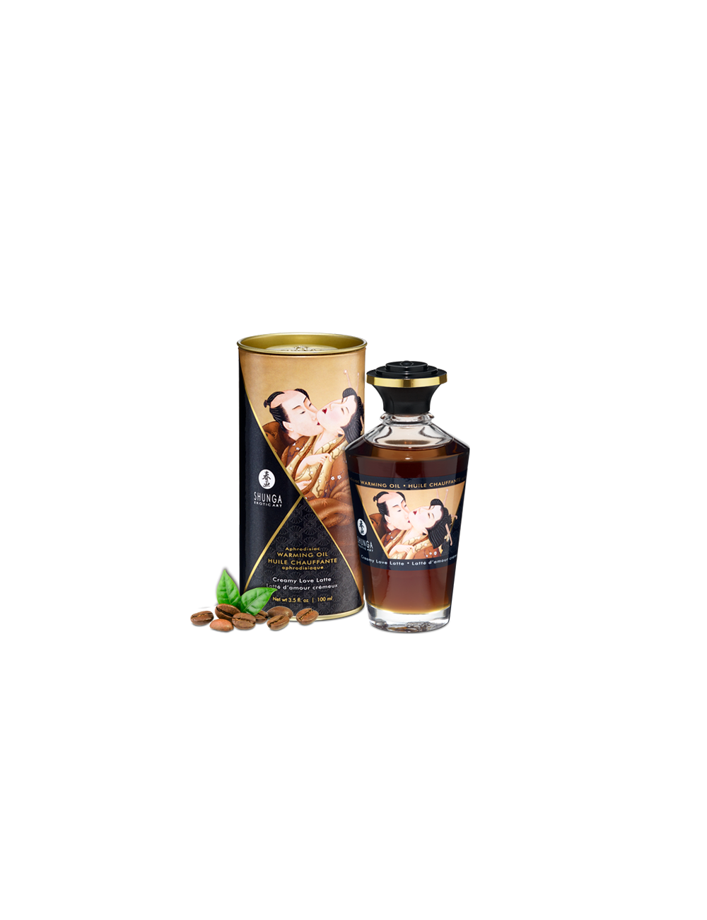 Huile chauffante aphrodisiaque latte d'amour 100ml