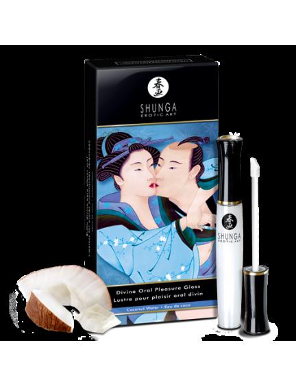 Gloss pour plaisir oral divin eau de coco Shunga