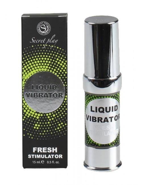 Gel Liquid vibrator Fresh retard SECRET PLAY