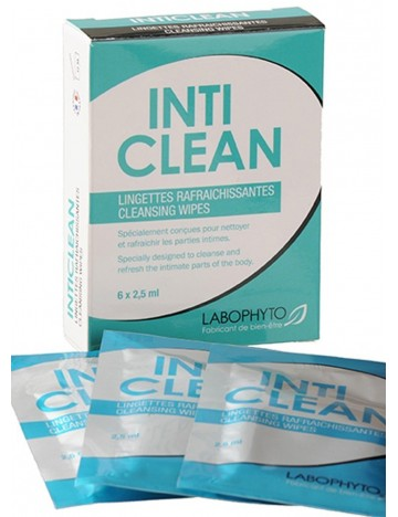 6 lingettes nettoyantes Inticlean LABOPHYTO