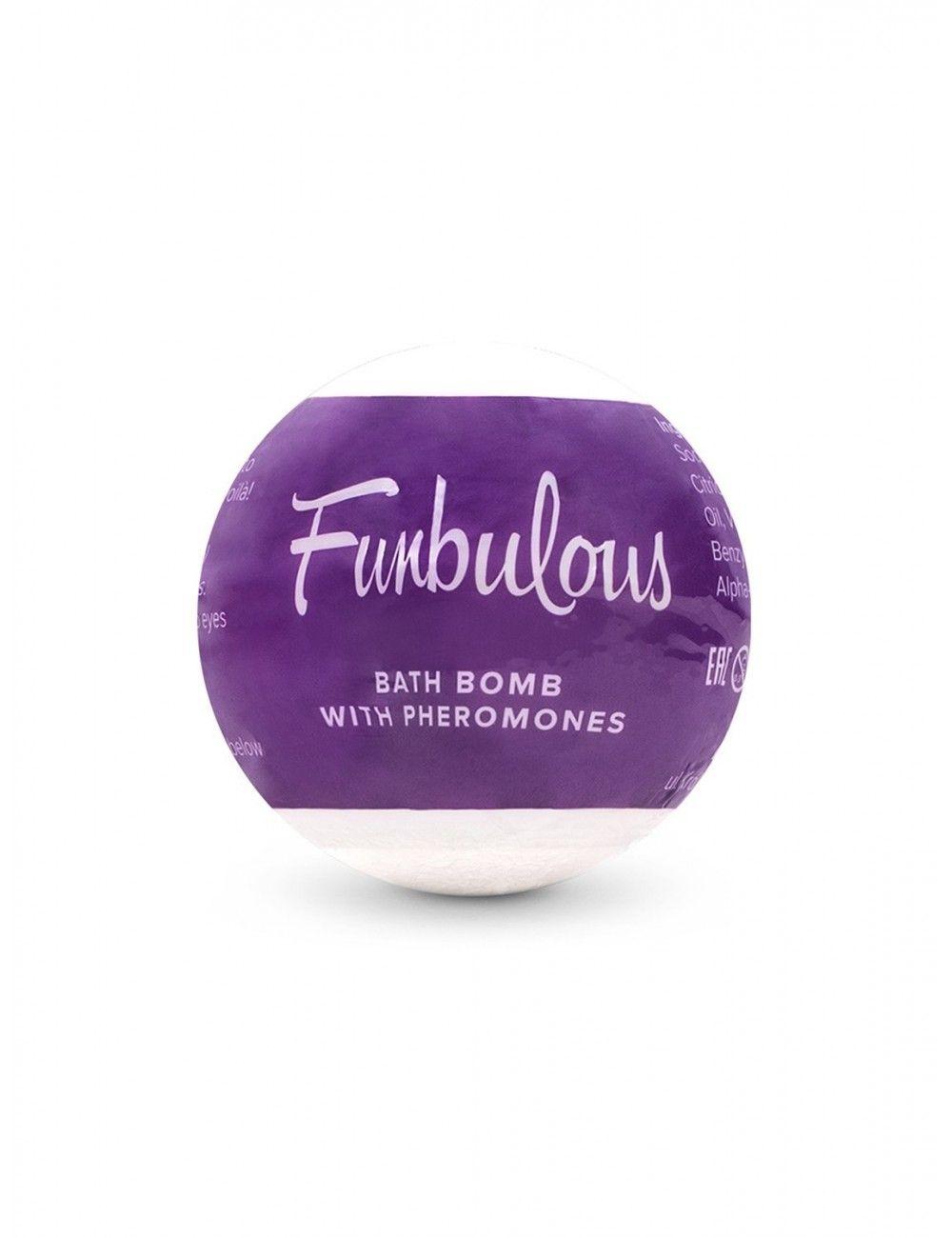 Bombe de bain avec phéromones Fun Obsessive