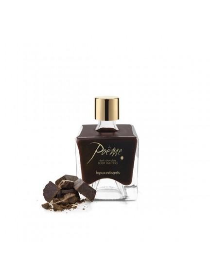 Peinture sur corps Chocolat Noir Bijoux Indiscrets