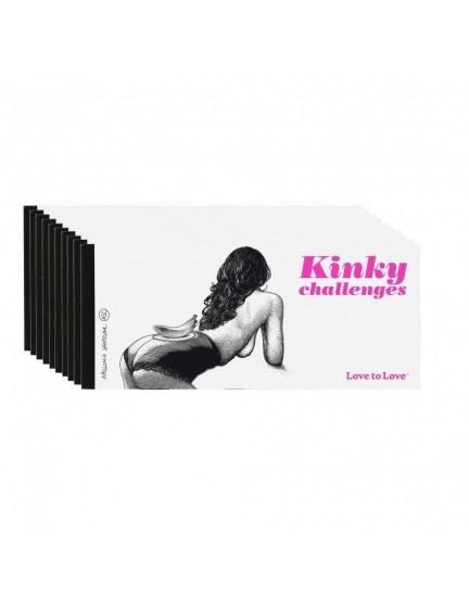 Chéquier Kinky challenges Saintclair