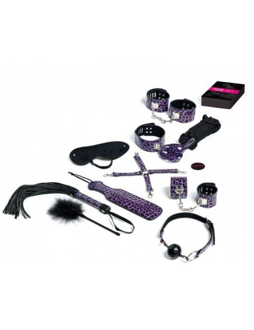 Jeu Master & Slave KIT BDSM Purple Premium