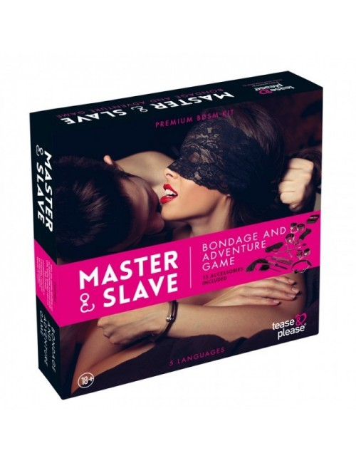 Jeu Master & Slave KIT BDSM Pink Premium