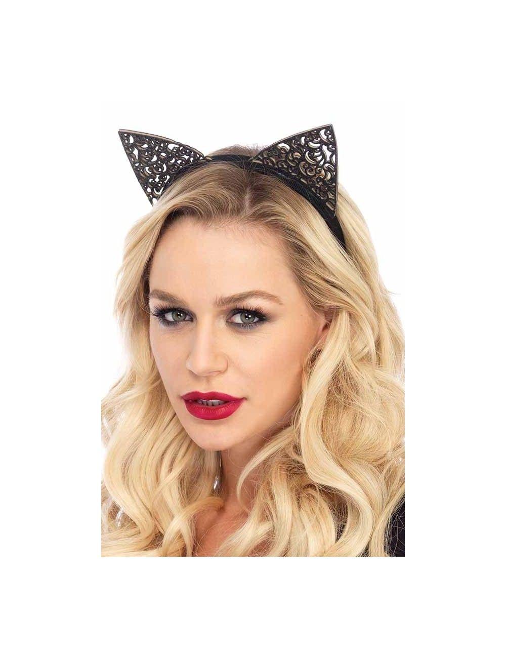 Serre tête oreilles de chat Cat LEG AVENUE