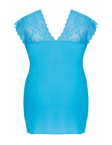 Nuisette et string turquoise Ofeely ANAIS