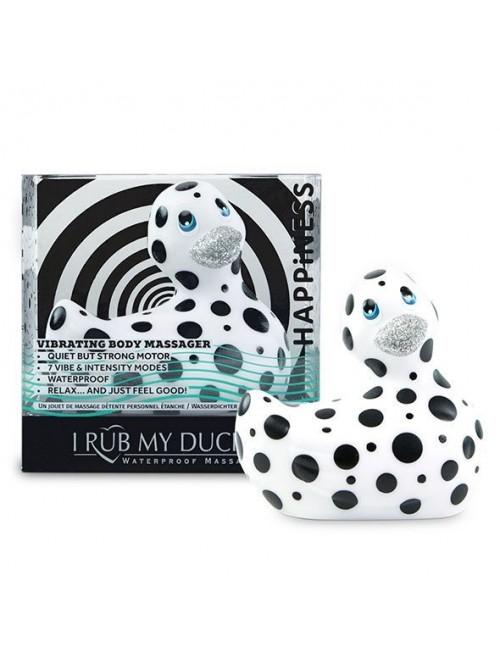 Canard vibrant noir et blanc Happiness Big Teaze Toys
